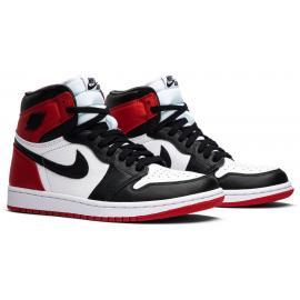 Wmns Air Jordan 1 Retro High 'Satin Black Toe'