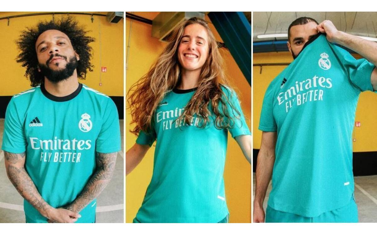 El Real Madrid presenta su tercera equipación para la temporada 21/22