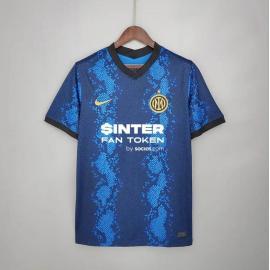 Camiseta Inter De Milán Primera Equipación 2021/2022 Niño