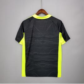 Camiseta Portera Internacional Negro Verde 21/22