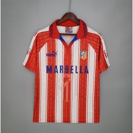 Camiseta Retro Atletico Madrid Primera Equipación 95/96