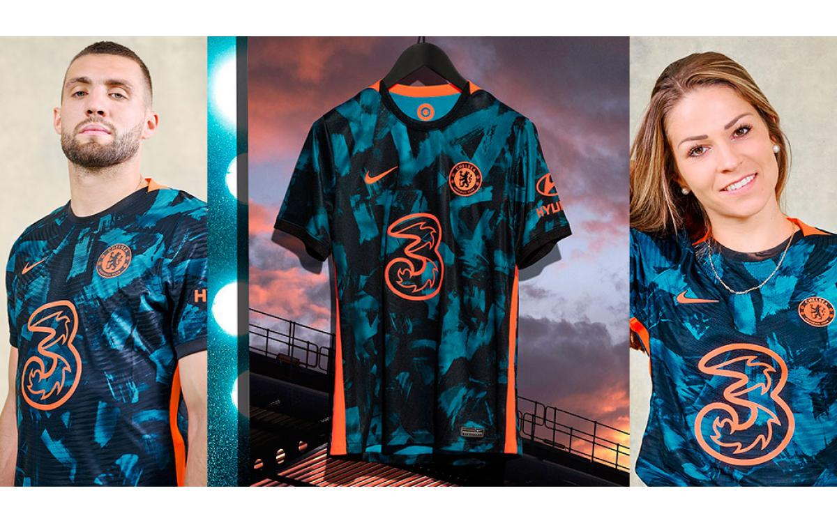 Camisetas Chelsea FC Tercera Equipación 2021-2022