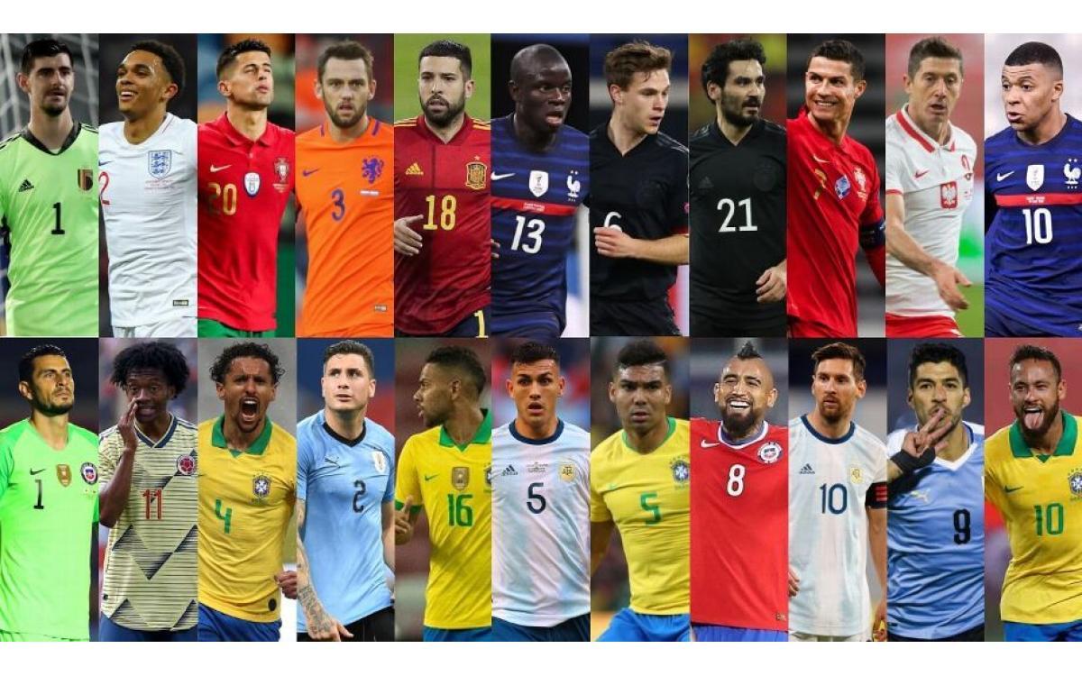 Euro vs. Copa América: el partido soñado