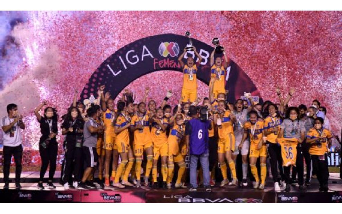 Tigres, tetracampeón de la Liga MX Femenil