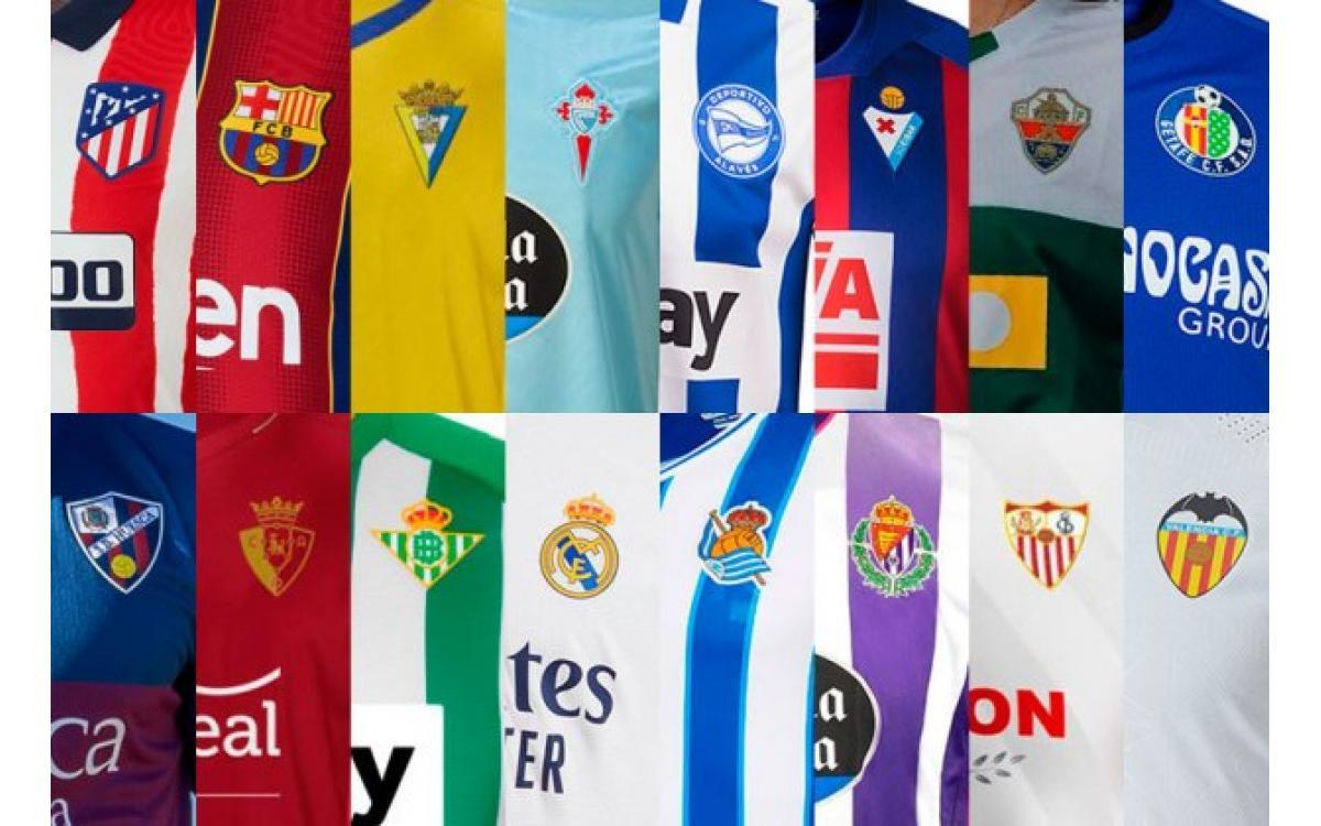Conoce Las Camisetas De La Liga Para La Temporada 2021 - 2022