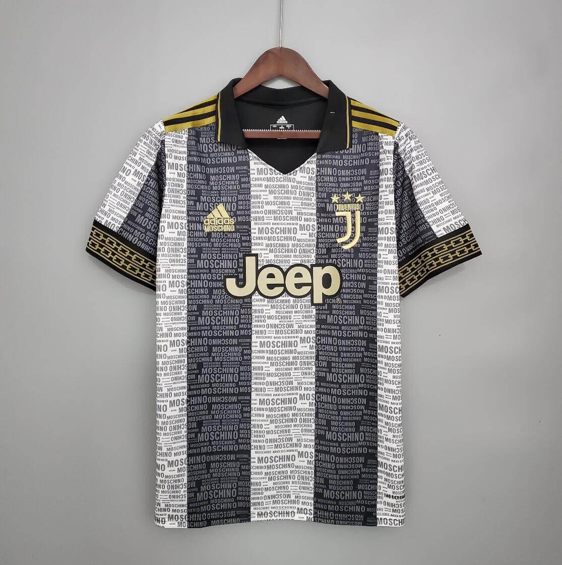 Camisetas 21/22 Juventus Vs Adidas & Moschino Concept Design